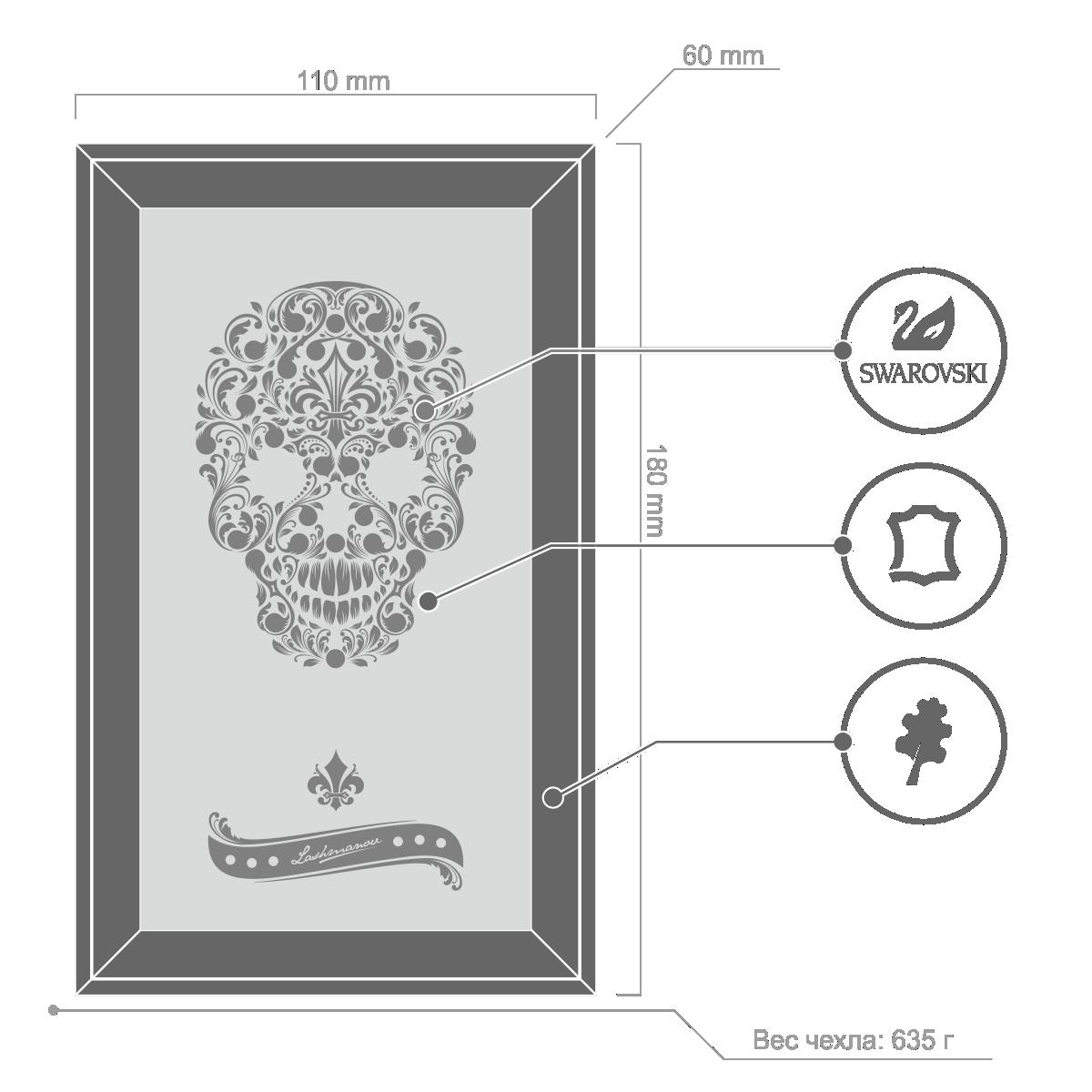 Florid Skull Box